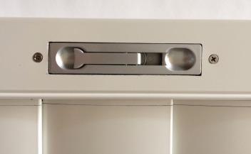 aluminium shutter panel lock flush bolt