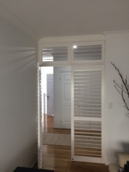 Greenslopes plantation shutters study open