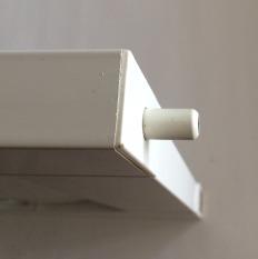 locking pin aluminium shutters panel lock