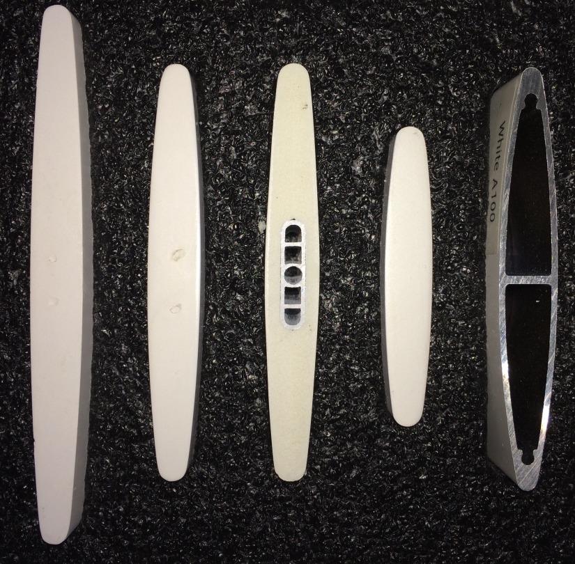 shutter blade sizes 114mm 89mm 89mm PVC 64mm 89mm aluminium