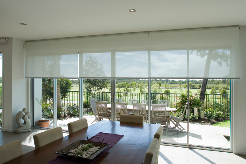 suncreen roller blinds sunshine coast